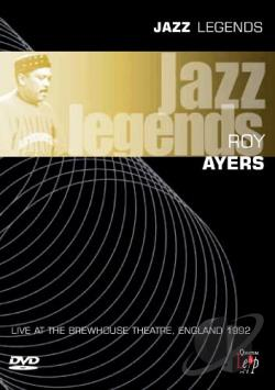 Roy Ayers - Jazz Legends: Live Brewhouse Theatre 1992 DVD Cover Art