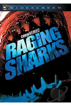 Raging Sharks DVD Cover Art