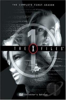 X-Files - The Complete First Season DVD Cover Art
