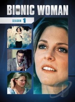 Bionic Woman - The Complete First Season DVD Cover Art