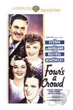 Four's a Crowd DVD Cover Art