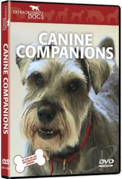 Extraordinary Dogs: Canine Companions DVD Cover Art