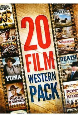 20 Film Western Pack DVD Cover Art