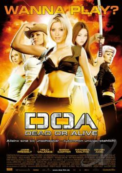 DOA: Dead or Alive DVD Cover Art