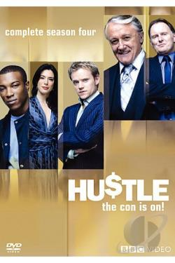 Hustle - The Complete Fourth Season DVD Cover Art