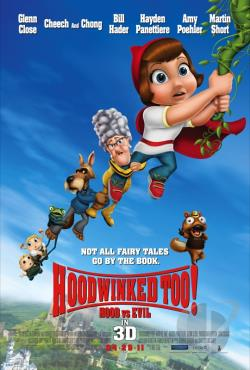 Hoodwinked Too! Hood vs. Evil DVD Cover Art