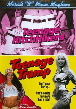 Maria's B Movie Mayhem: Teenage Hitchhikers/Teenage Tramp DVD Cover Art
