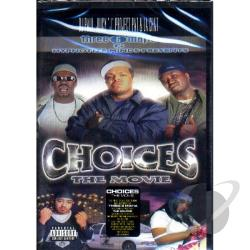 Three 6 Mafia - Choices: The Movie DVD Cover Art