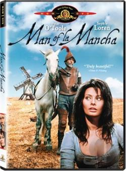 Man Of La Mancha DVD Cover Art