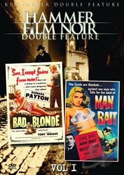 Hammer Film Noir - Vol. 1: Bad Blonde/Man Bait DVD Cover Art
