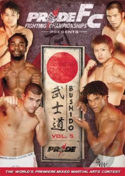 PRIDE Fighting Championships - Bushido: Vol. 5 DVD Cover Art