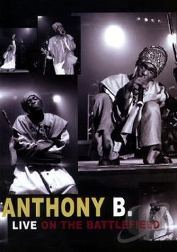 Anthony B - Live on the Battlefield DVD Cover Art