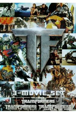Transformers: 3-Movie Set DVD Cover Art
