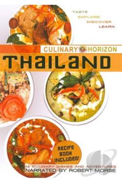Culinary Horizon: Thailand DVD Cover Art