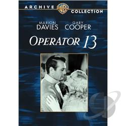Operator 13 DVD Cover Art