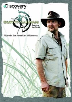 Discovery Channel - Survivorman: Alone In The Wilderness DVD Cover Art