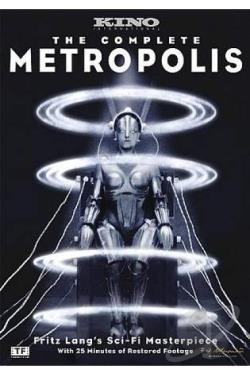 Metropolis DVD Cover Art