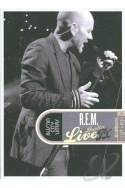R.E.M.: Live from Austin, TX DVD Cover Art