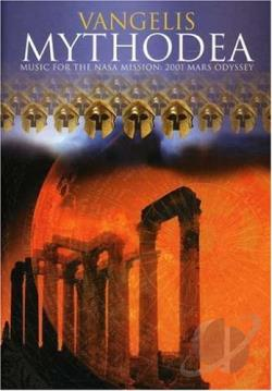 Mythodea - Music for the NASA Mission: 2001 Mars Odyssey DVD Cover Art