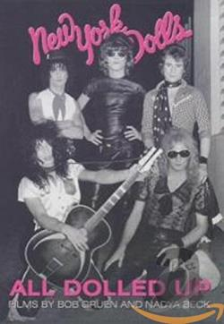 New York Dolls - All Dolled Up DVD Cover Art