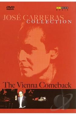 Jose Carreras Collection - The Vienna Comeback DVD Cover Art