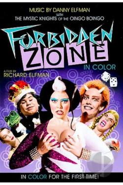 Forbidden Zone DVD Cover Art