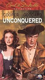Unconquered VHS Cover Art