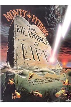 Monty Python's The Meaning of Life DVD Cover Art