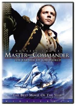 Master and Commander: The Far Side of the World DVD Cover Art