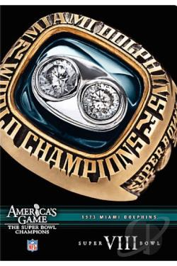 NFL Americas Game: Miami Dolphins Super Bowl VIII DVD Cover Art