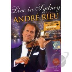 Live In Sydney DVD Cover Art