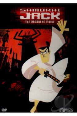 Samurai Jack - The Premiere Movie DVD Cover Art