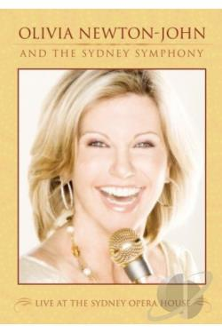 Olivia Newton-John - Live At The Sydney Opera House DVD Cover Art