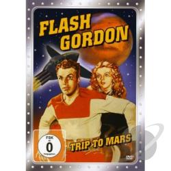 Flash Gordon Trip To Mars DVD Cover Art