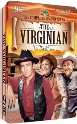 Virginian - The Complete Season Seven DVD Cover Art