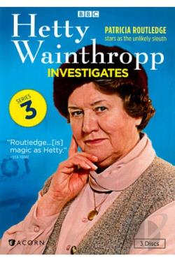Hetty Wainthropp Investigates - The Complete Third Series DVD Cover Art