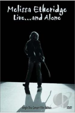 Melissa Etheridge - Live... and Alone DVD Cover Art
