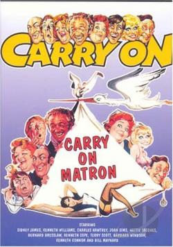 Carry On Matron DVD Cover Art