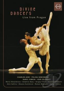 Divine Dancers - Live From Prague DVD Cover Art