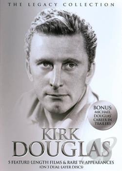 Kirk Douglas: The Legacy Collection DVD Cover Art