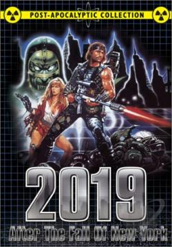 2019: After The Fall Of New York: Warriors Of The Wasteland DVD Cover Art