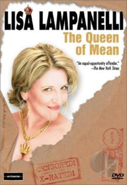 Lisa Lampanelli - The Queen of Mean DVD Cover Art