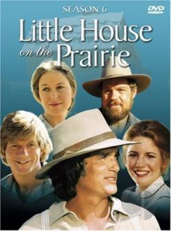 Little House on the Prairie - Season 6 DVD Cover Art