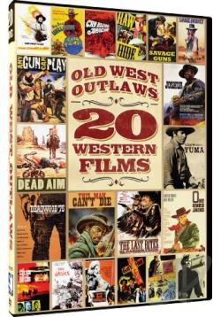 Old West Outlaws: 20 Movies DVD Cover Art