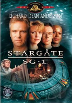 Stargate SG-1 - Season 3: Volume 3 DVD Cover Art