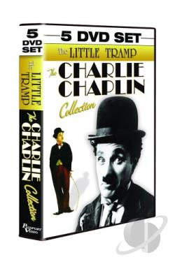 Charlie Chaplin - The Little Tramp - The Charlie Chaplin Collection DVD Cover Art