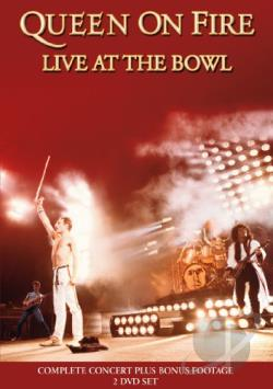 Queen: On Fire - Live at the Bowl DVD Cover Art