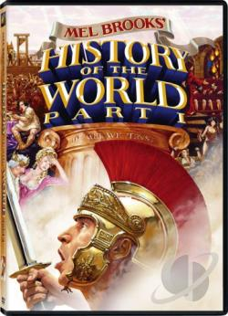 History of the World: Part 1 DVD Cover Art