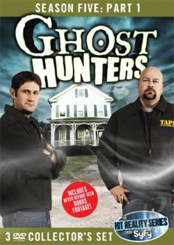 Ghost Hunters - Fifth Season: Part 1 DVD Cover Art
