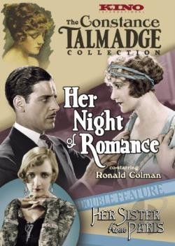 Her Night of Romance/Her Sister from Paris DVD Cover Art